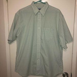 Arrow Short-Sleeve Button-Up